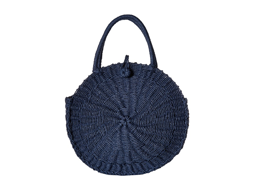 Hat Attack - Cooper Round Bag (Navy) Bags