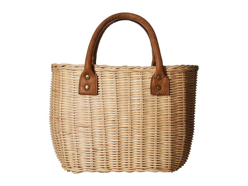 Hat Attack - Wicker Small Basket (Natural) Bags