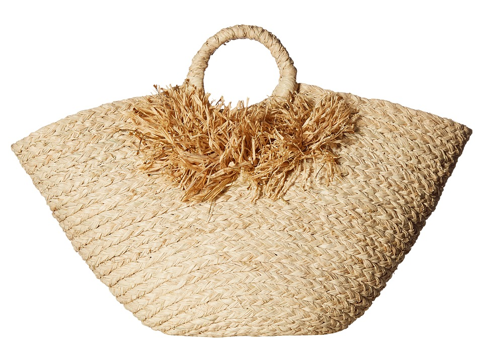 Hat Attack - Afternoon Bag (Natural/Gold) Bags