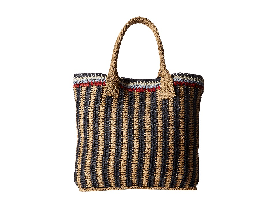 Hat Attack - Stripe Handheld (Multi) Handbags