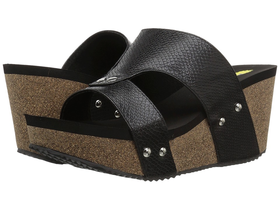 VOLATILE - Cassia (Black) Womens Shoes