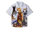 Dolce & Gabbana Kids Short Sleeve Shirt (Toddler/Little Kids)