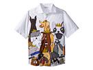 Dolce & Gabbana Kids Short Sleeve Shirt (Big Kids)