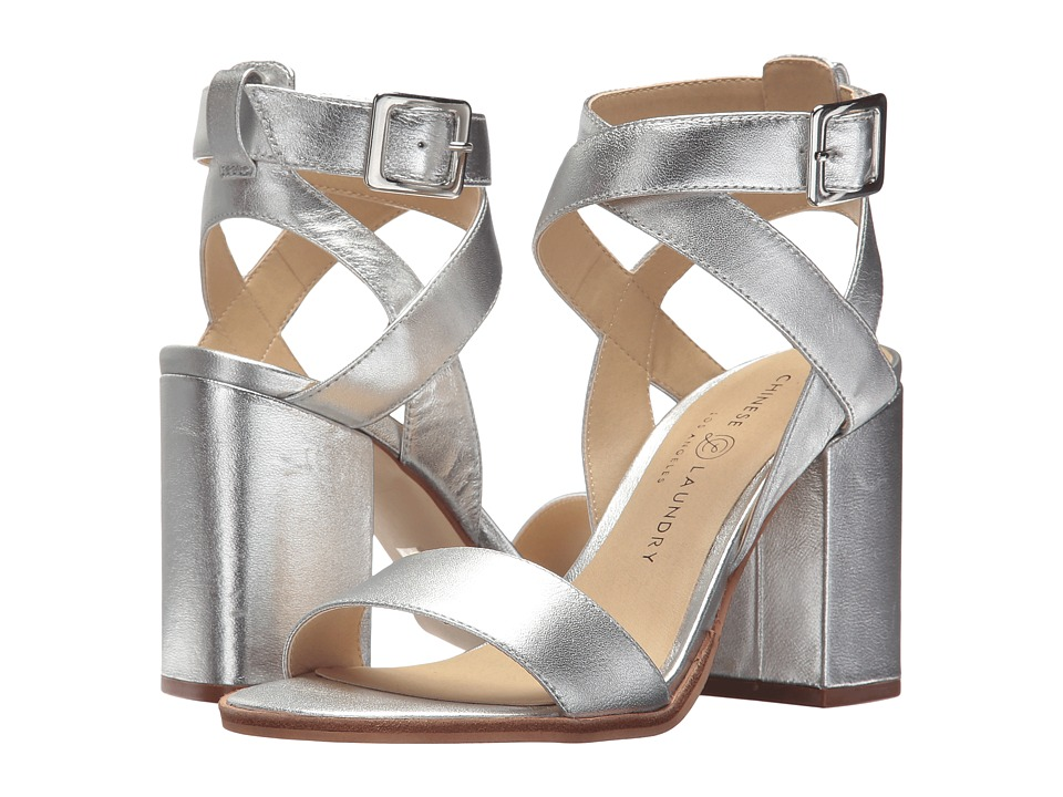 Chinese Laundry - Sitara (Silver Kid Leather) High Heels