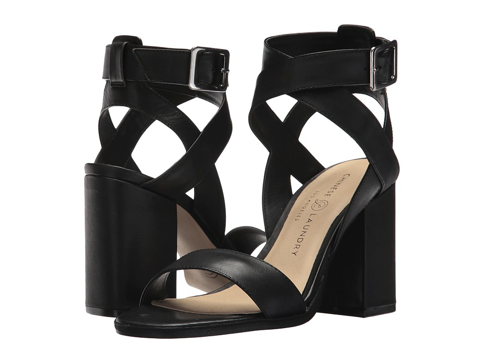 Chinese Laundry Sitara (Black Cow Leather) High Heels