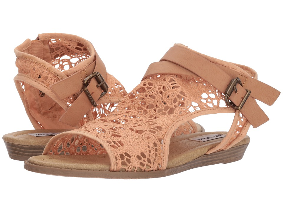 Not Rated Aleksa (Peach) Sandals