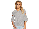 1.STATE 1.STATE Short Sleeve Sweater w/ D-Ring Detail