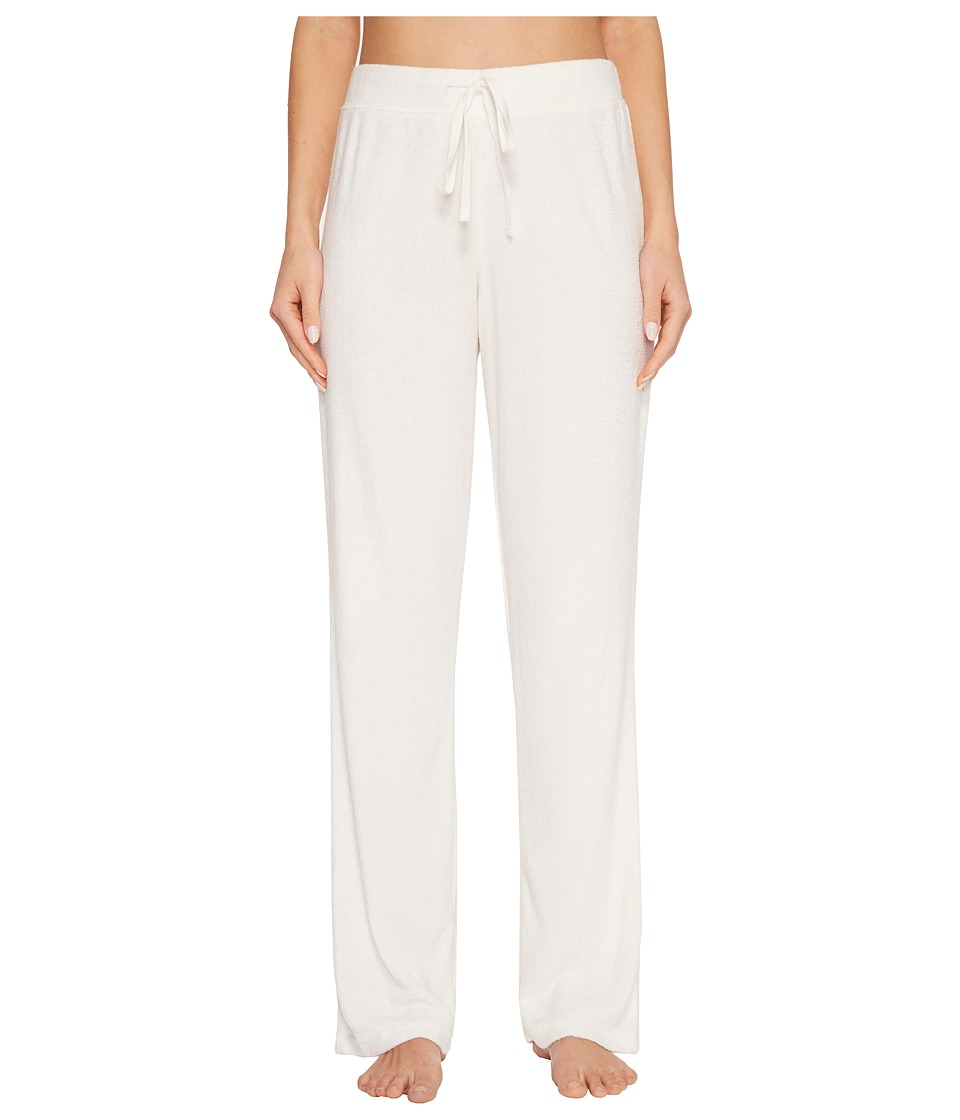 N by Natori - Terry Lounge Pants (Warm White) Women's Pajama