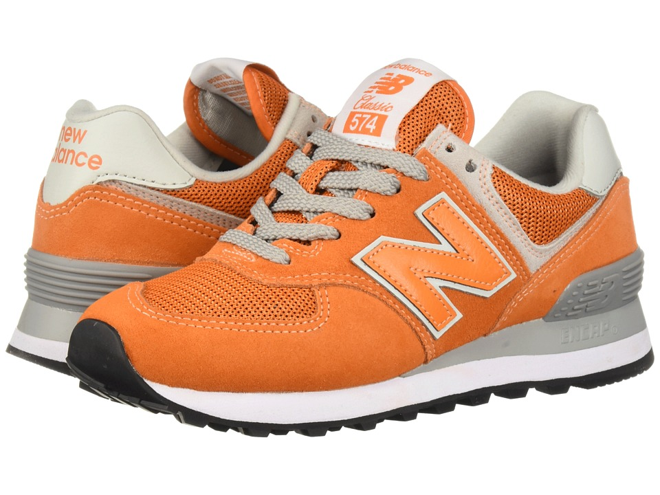 New Balance Classics - ML574 (Varsity Orange) Mens Shoes