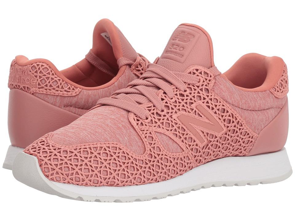 New Balance Classics - WL520 (Pink) Womens Classic Shoes
