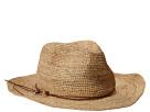 Hat Attack Raffia Crochet Rancher w/ Ring Cord Trim