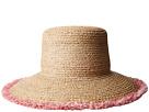 Hat Attack Raffia Braid Lampshade w/ Fringe