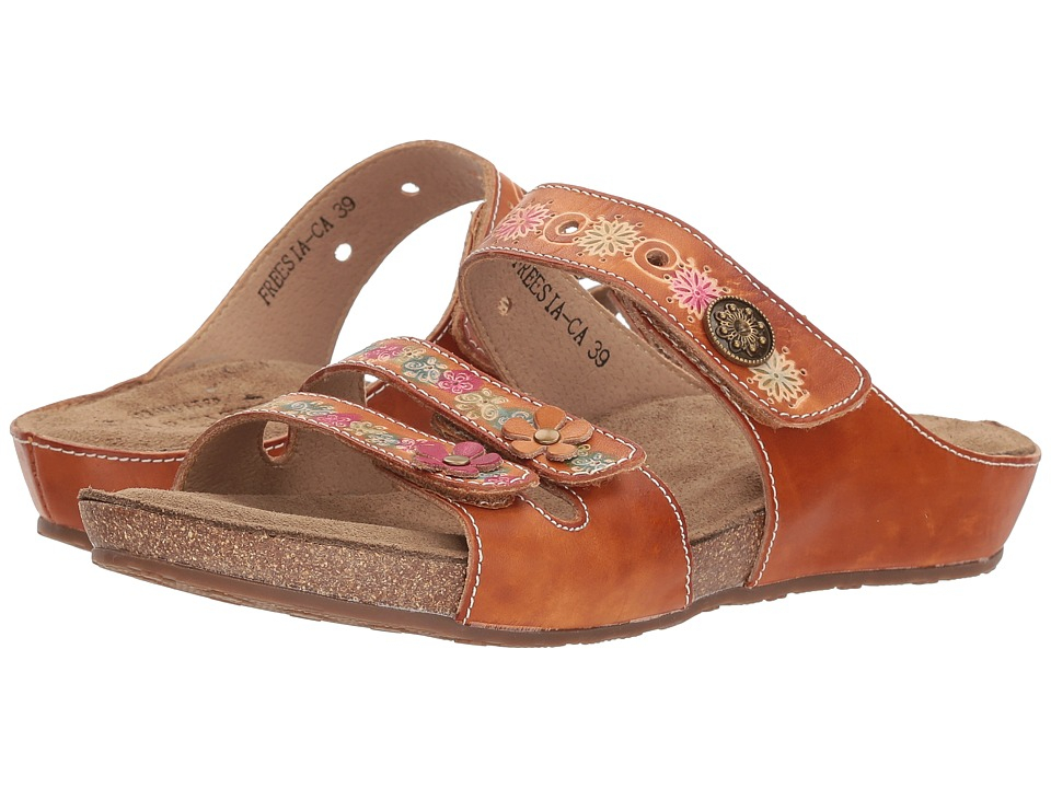 L'Artiste by Spring Step Freesia (Camel) Women's Shoes