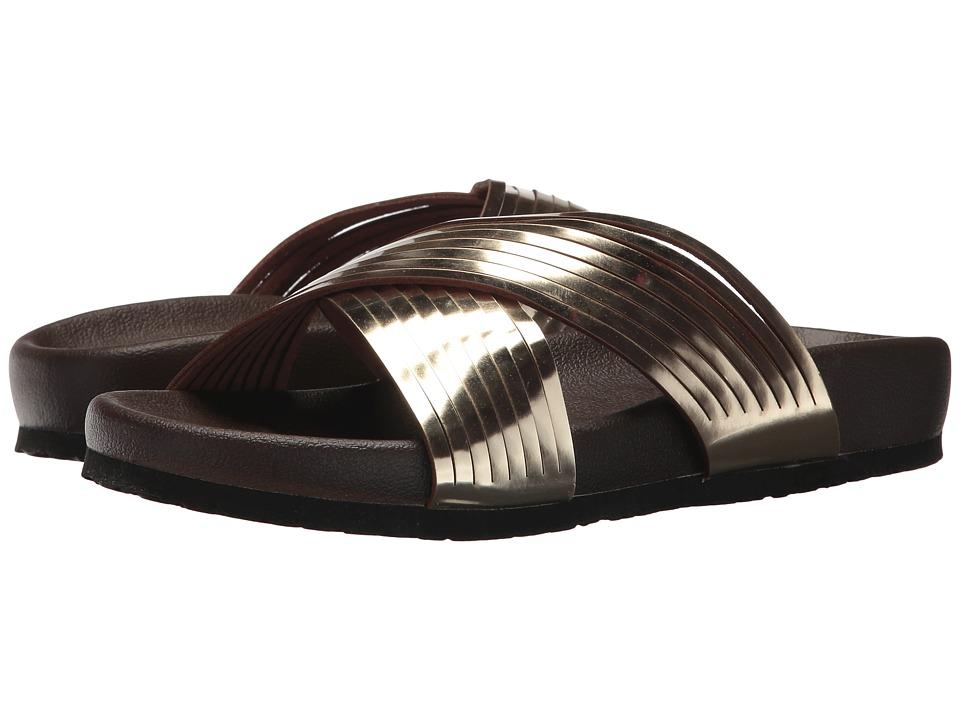 VOLATILE - Barbeau (Gold) Women's Sandals