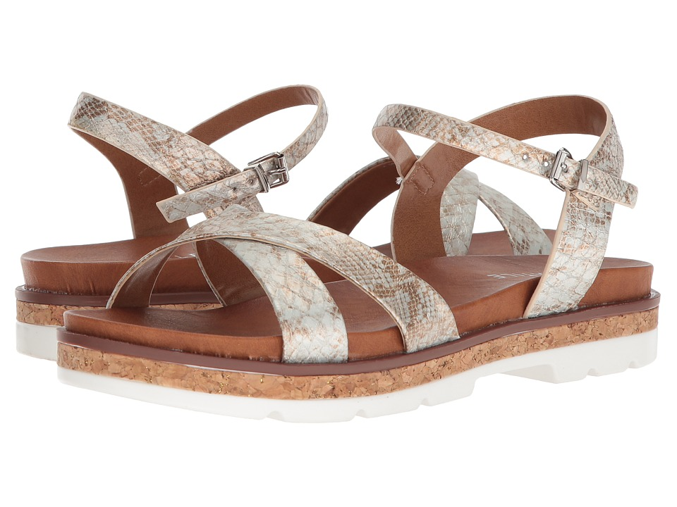 VOLATILE - Petite (White/Multi) Womens Sandals