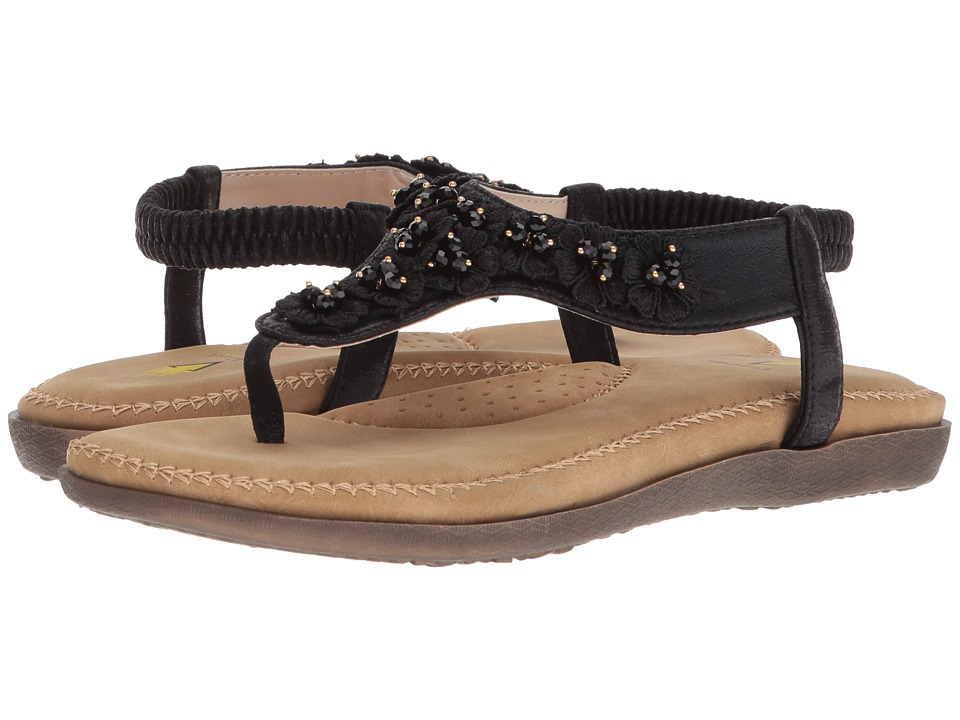VOLATILE - Joyous (Black) Womens Sandals