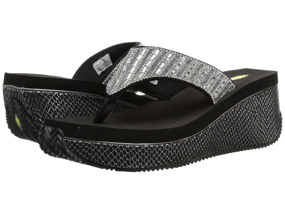 VOLATILE - Squire (Black) Womens Wedge Shoes
