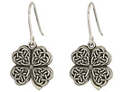 Alex and Ani Alex and Ani Four Leaf Clover Hook Earrings
