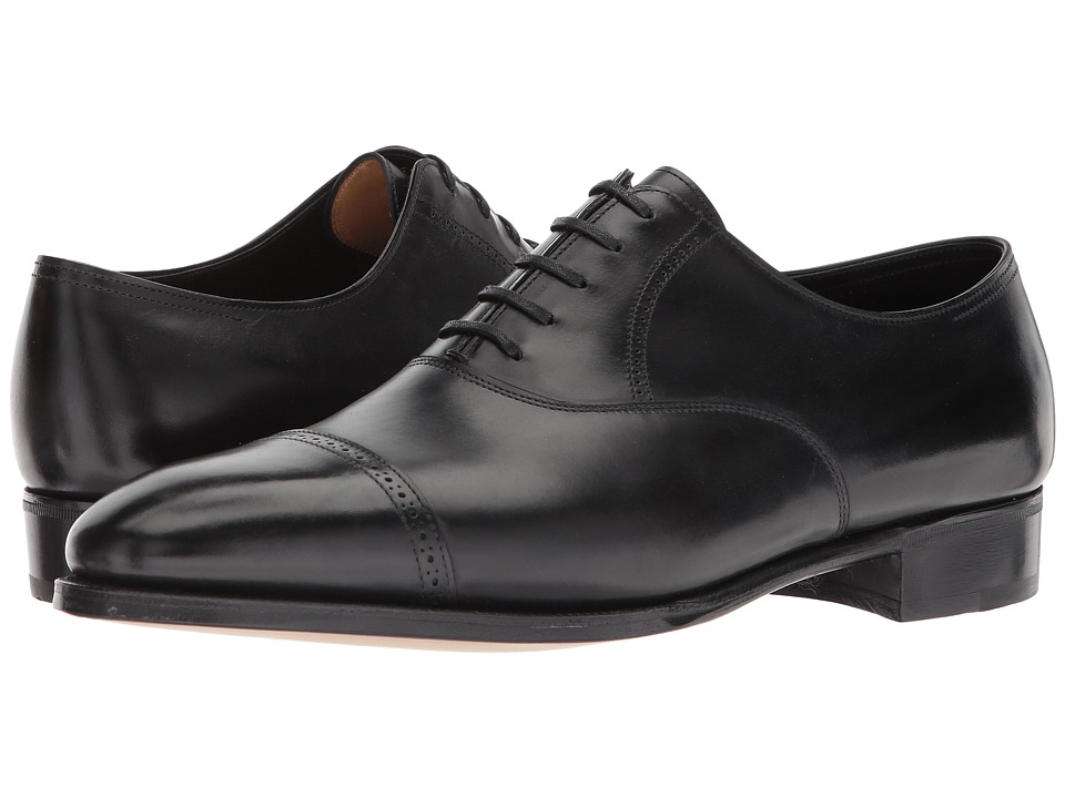 John Lobb - Phillip II Oxford (Black) Mens Lace up casual Shoes