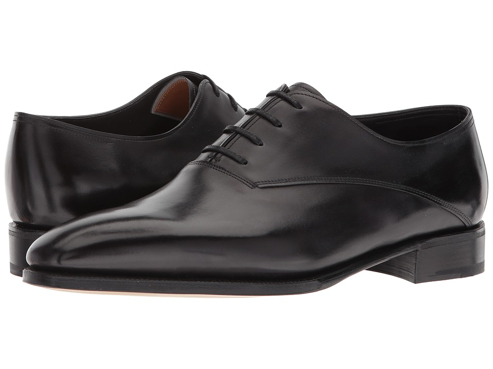 John Lobb - Becketts Oxford (Black) Mens Lace up casual Shoes