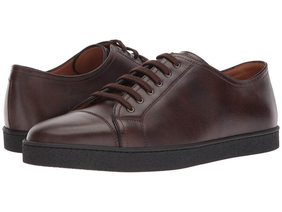 John Lobb - Levah Sneaker (Dark Brown) Mens Lace up casual Shoes