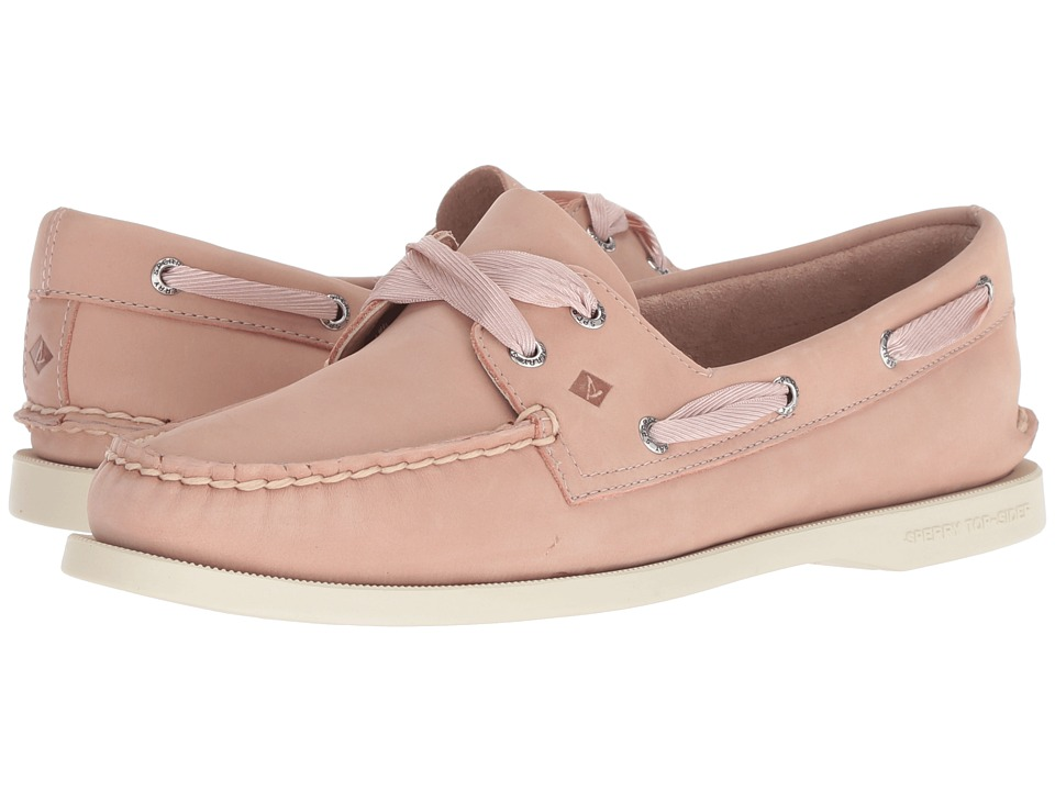 Sperry A/O Satin Lace (Rose Dust) Slip-On Shoes