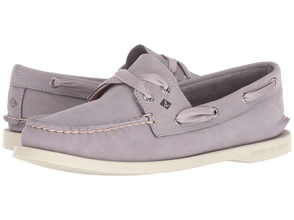 Sperry A/O Satin Lace (Light Purple) Slip-On Shoes