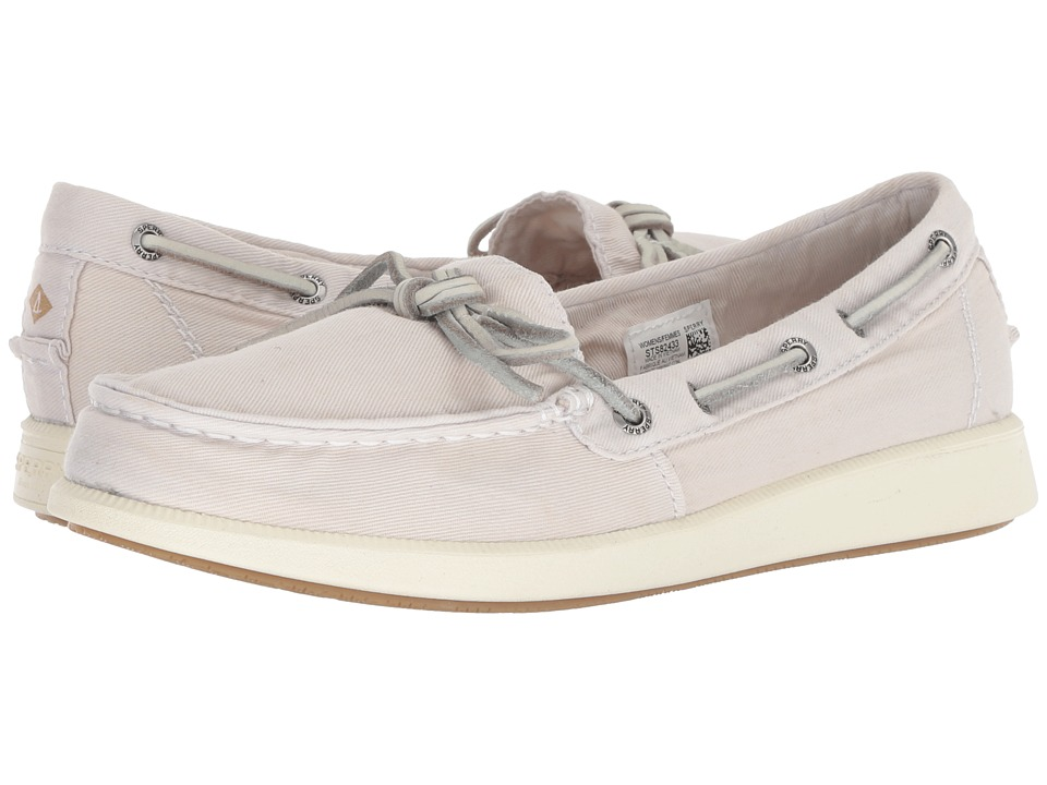 Sperry Oasis Canal Canvas (Ivory) Slip-On Shoes