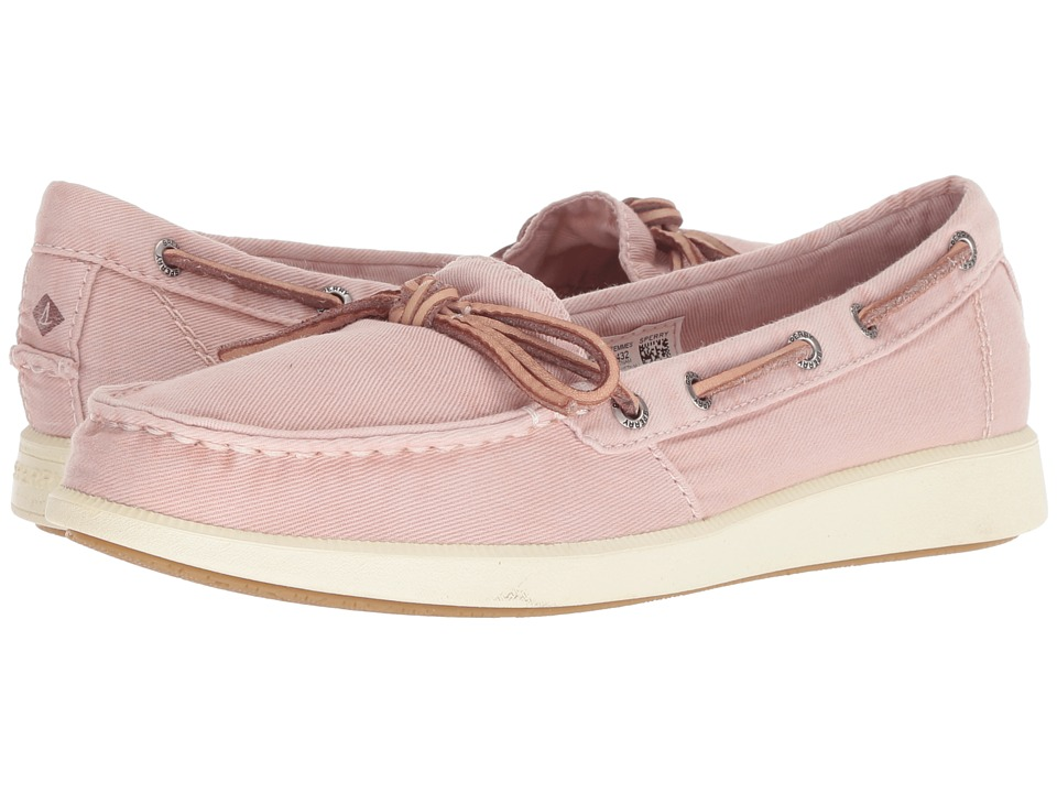 Sperry Oasis Canal Canvas (Rose Dust) Slip-On Shoes