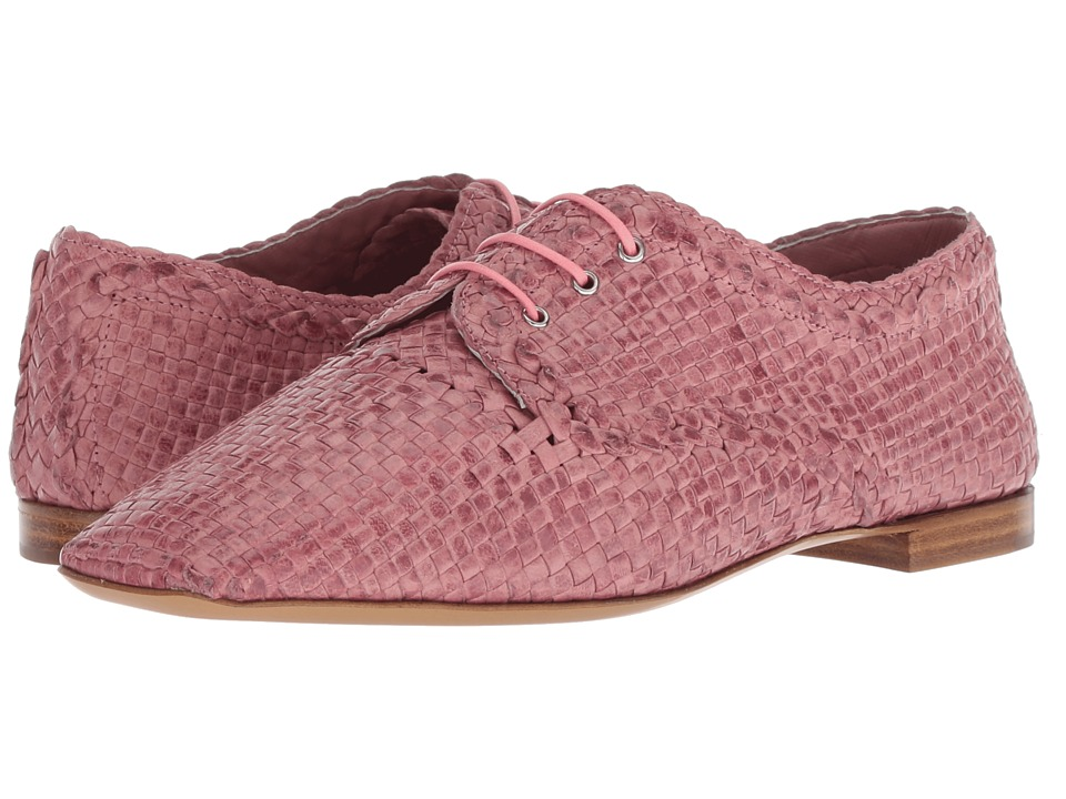 Emporio Armani Woven Oxford (Pink) Women's Shoes