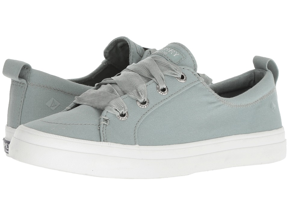 Sperry Crest Vibe Satin Lace (Mint)