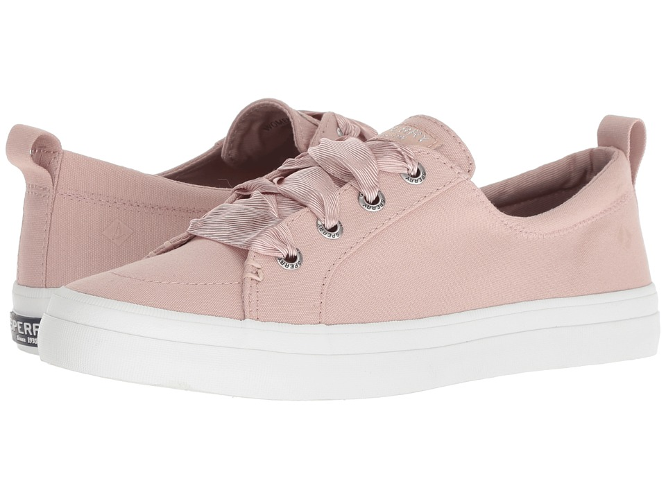 Sperry Crest Vibe Satin Lace (Rose Dust)