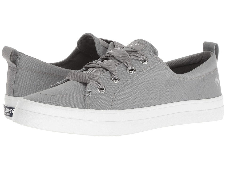 Sperry Crest Vibe Satin Lace (Grey)