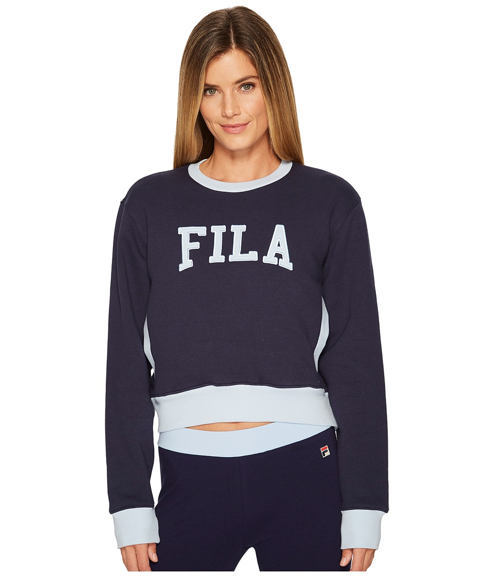 Fila Sheena Sweatshirt (Navy/Skyway) Women