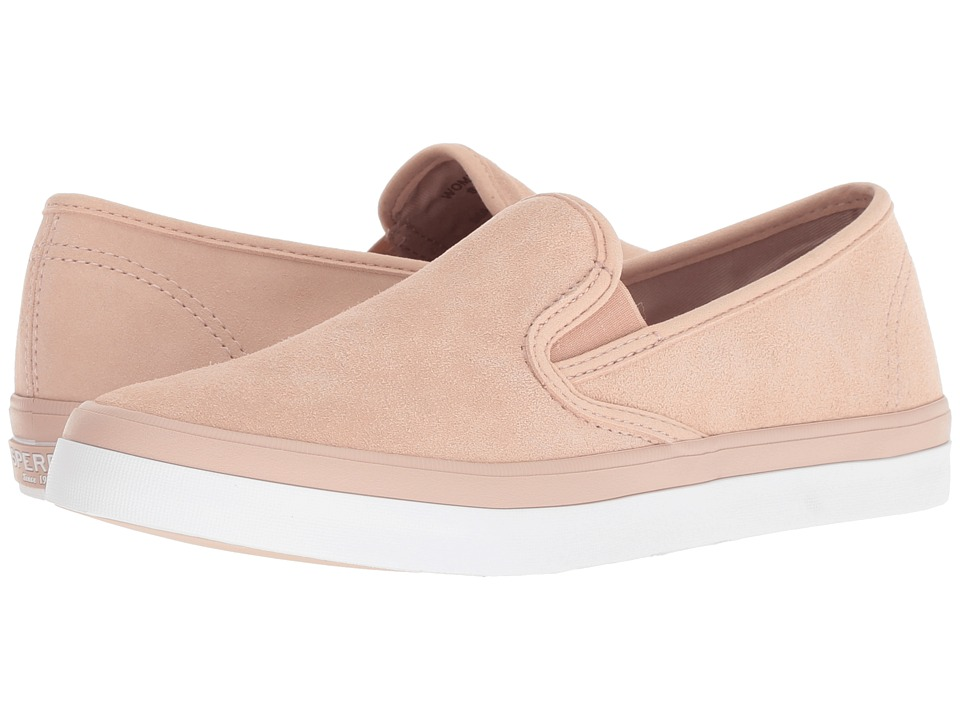 Sperry Seaside Suede (Rose Dust) Slip-On Shoes