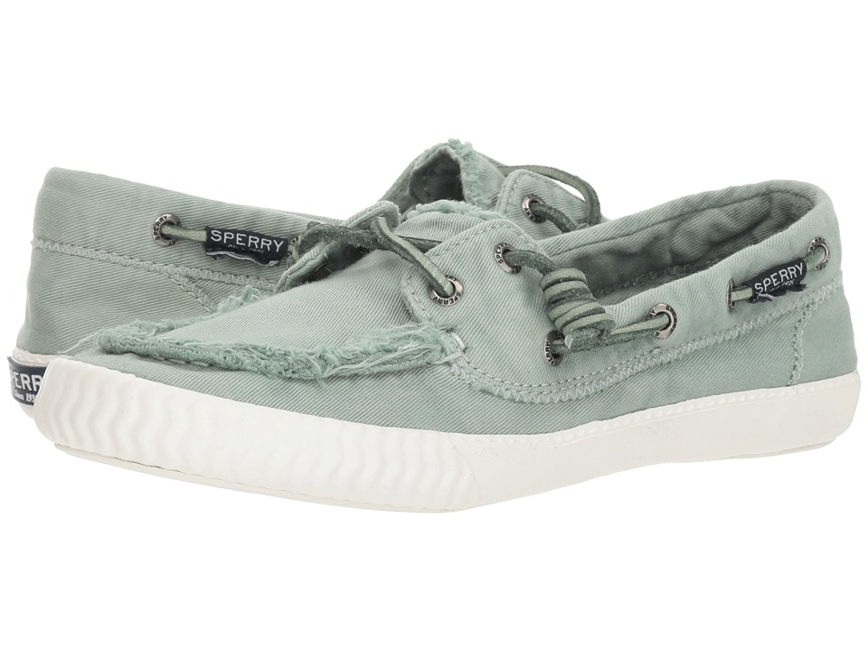 Sperry Sayel Away Washed (Mint) Women's Moccasins