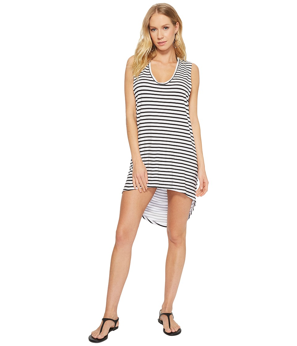 MIKOH SWIMWEAR Okinawa Striped Tank Cover-Up 4OKI1V-002