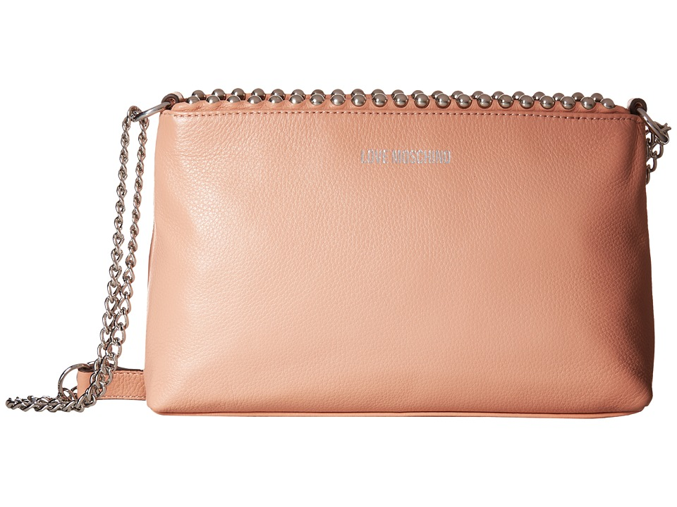 LOVE Moschino - Pallina Clutch (Light Pink) Handbags