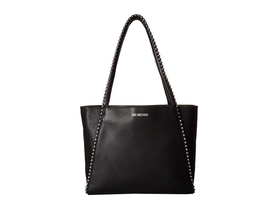 LOVE Moschino - Pallina Tote (Black) Tote Handbags