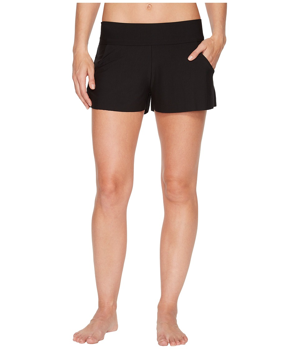 Commando - Butter High-Rise Shorts SL154 (Midnight) Womens Shorts