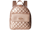 LOVE Moschino Metallic Quilted Backpack