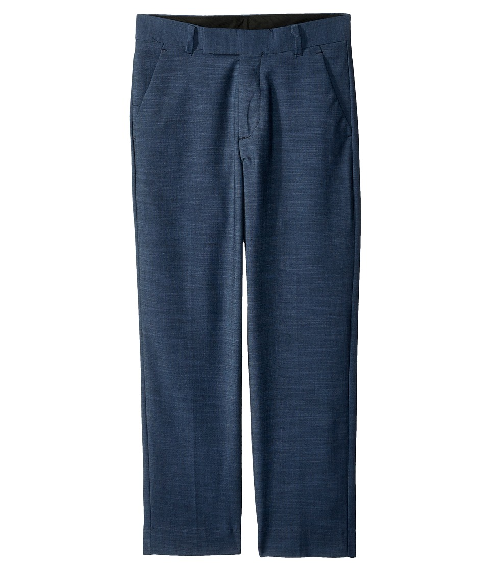 Calvin Klein Kids - Plain Weave Pants (Big Kids) (Medium Blue) Boys Casual Pants