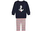 Ralph Lauren Baby Anchor Top Leggings Set (Infant)