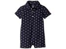 Ralph Lauren Baby Cotton Mesh Polo Shortalls (Infant)