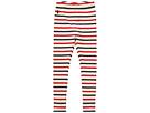 Polo Ralph Lauren Kids Striped Stretch Cotton Leggings (Toddler)