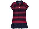 Polo Ralph Lauren Kids Stretch Cotton Polo Dress (Toddler)