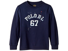 Polo Ralph Lauren Kids Cotton Jersey Graphic T-Shirt (Toddler)