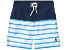 Polo Ralph Lauren Kids Sanibel Striped Swim Trunks (Little Kids)