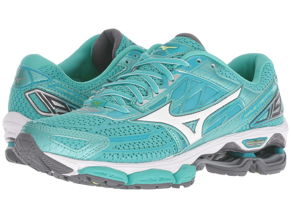 Mizuno Wave Creation 19 (Turquoise/Peacock Blue) Women's Running Shoes