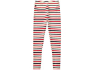 Polo Ralph Lauren Kids Striped Stretch Cotton Leggings (Little Kids/Big Kids)